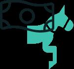 Aniemrad bild med häst + sedel